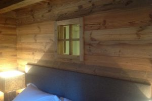 rustic chalet alps
